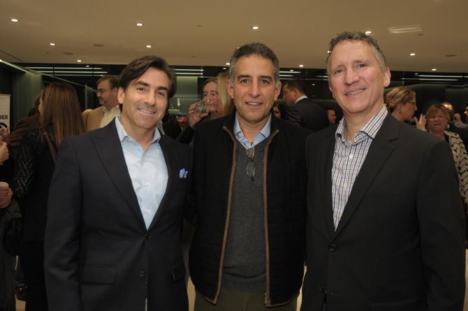 Brian Stepanian, Richard Papalian, Tom Torelli