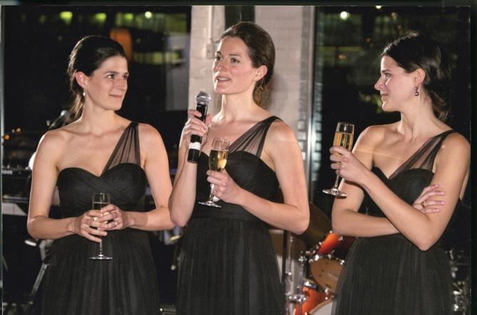 Katherine Nix, Lucy and Lizzie McGirr