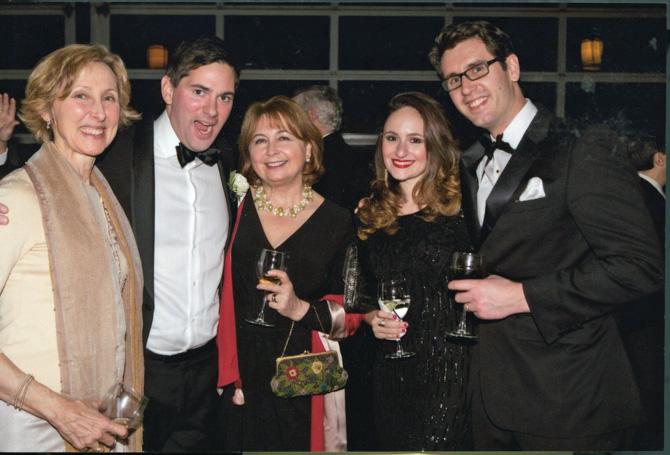Dana McAvity, the groom, Brigitta Boensch, Britt Olsen-Ecker, Eliott Rauh