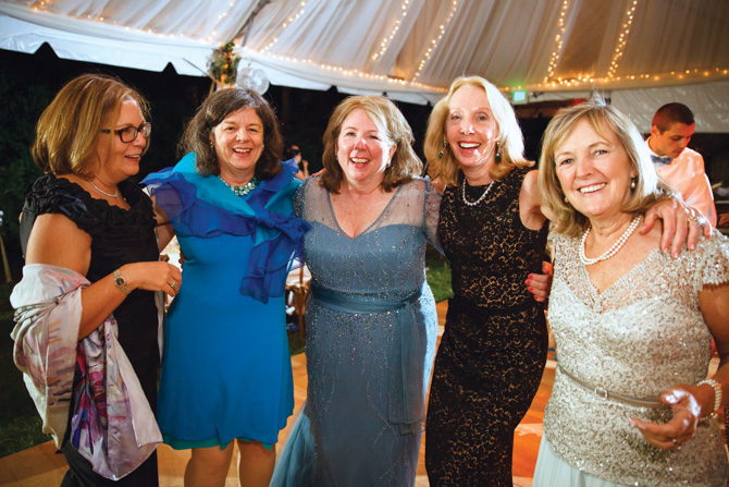 Kathy Plimpton, Karin Crooks, Cathy Gates, Sharon Phillips, Lin Lavery