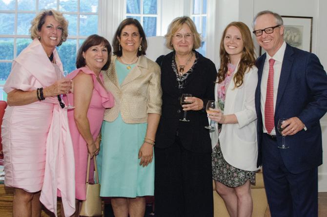 Karen Forgione, Colette Barber, Amanda Spyrou, Dr. Sandra Mond, Mary and Thomas Barber