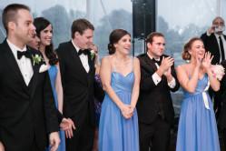 Steven George, Andrew Kyriakos, Rachel Diorio, David and Diana Walsh, Peter Kyriakos, Jennifer George