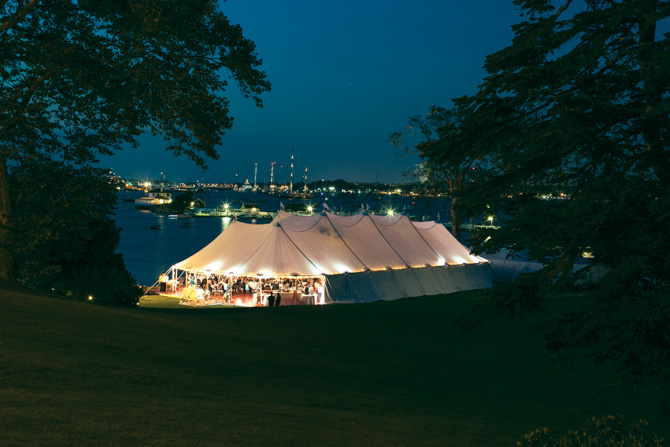 Under the stars in Newport
