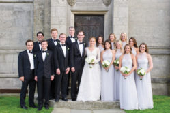 William and Brooke with their wedding party