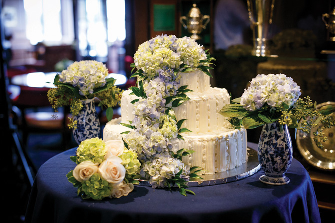 The wedding cake by St. Moritz