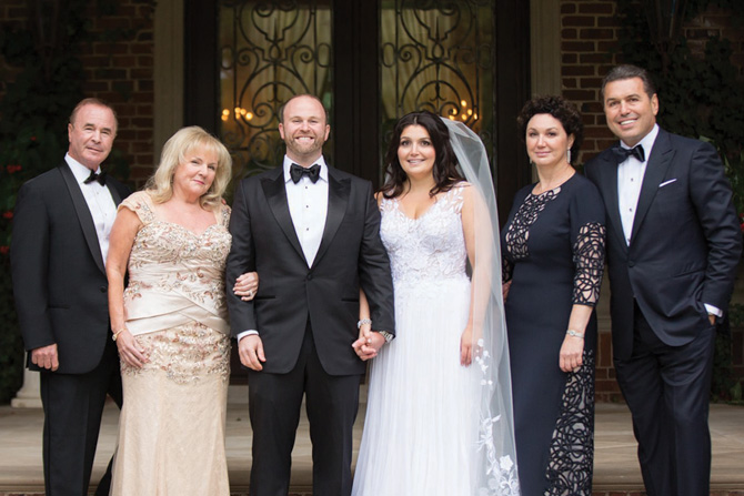 Stephen and Susan Geller, Michael and Asya, Marina and Michael Varshisky