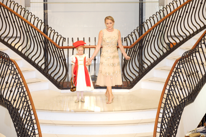 Fashion Show:  Paige Evans, Geraldine Evans