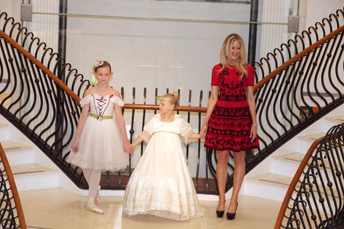 Fashion Show:  Lauren Lindsey, Kate Stroud, Kelly Stroud