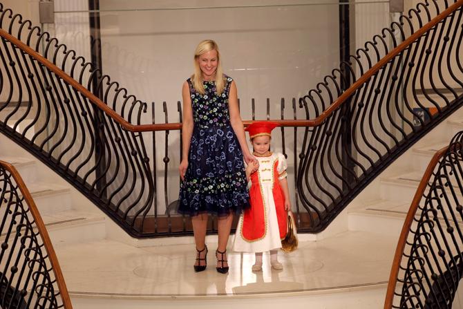 Fashion Show:  Olivia Spraker, Erica Spraker