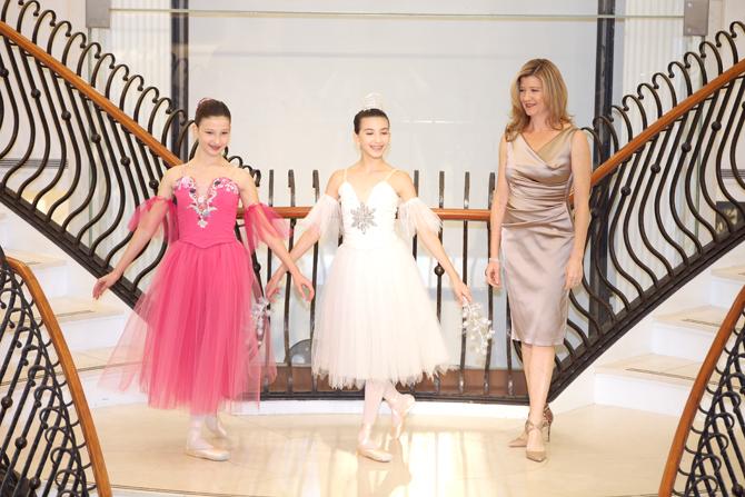 Fashion Show:  Carolina Rivera, Victoria Rivera, Patricia Franklin