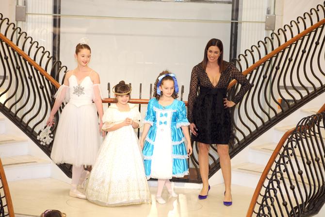 Fashion Show:  Caroline Walsh, Brielle Quick, Kendall Quick, Kristen Quick