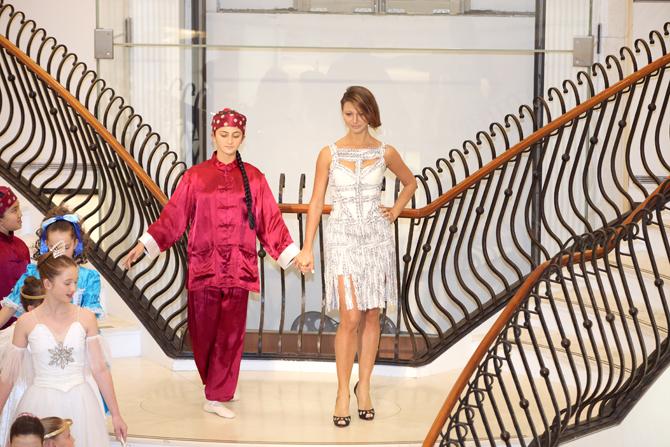 Fashion Show:  Sophie Jayaweera, Nadya Podolsy