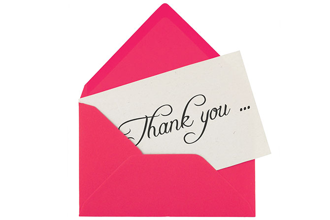 thank you note by: Ever; groceris by tashka2000;  shears and comb by michaklootwijk; whistle by Michael Flippo © stock.adobe.com