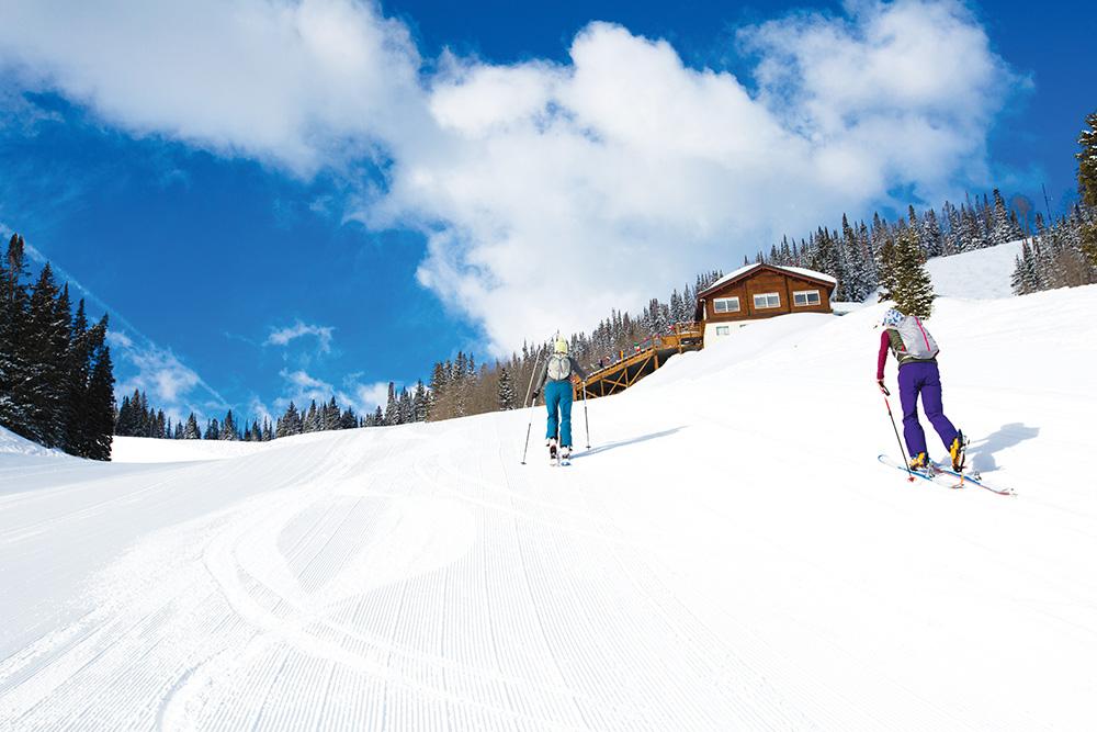 The uphill climb in Aspen