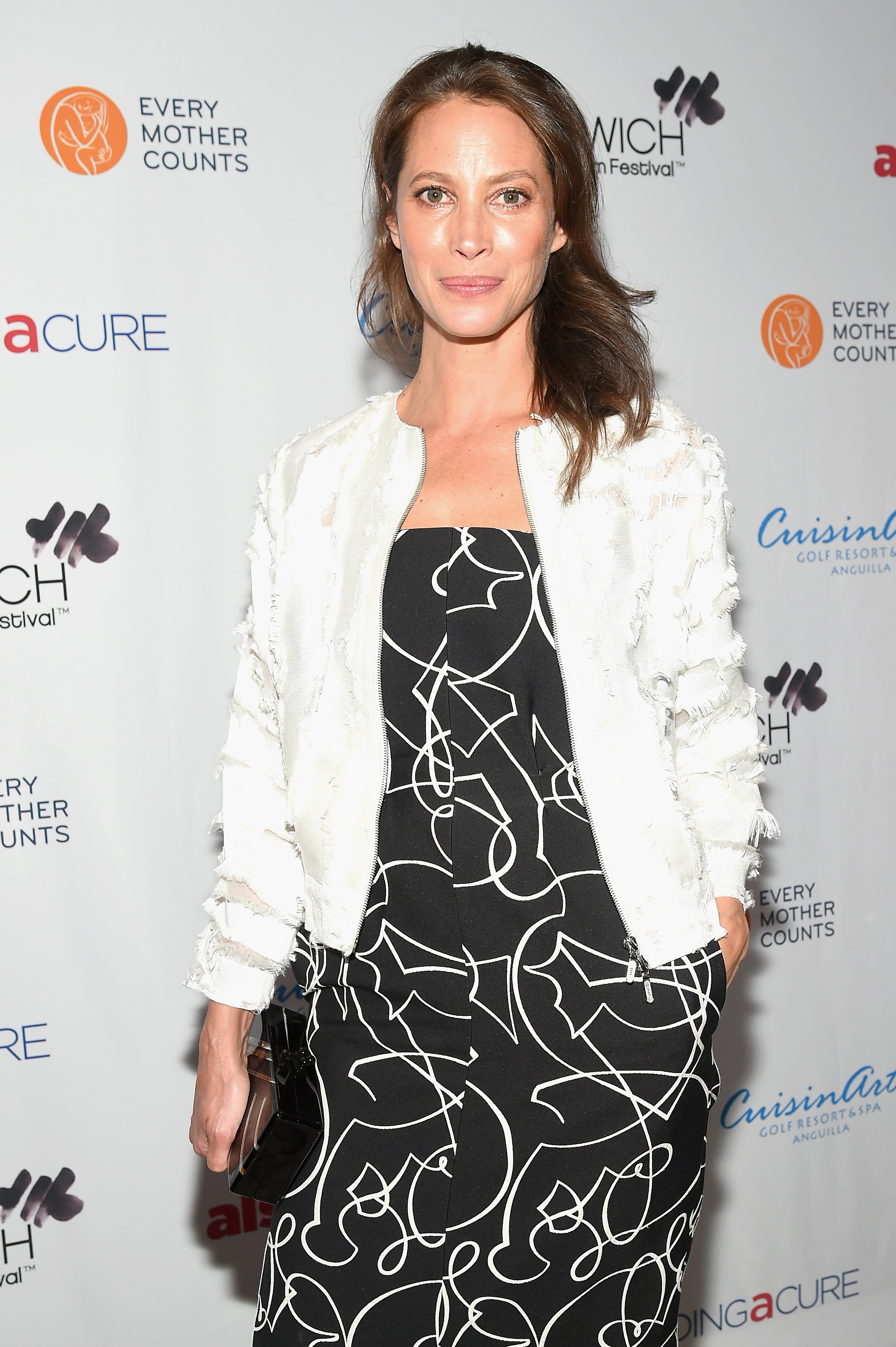 GREENWICH, CT - JUNE 01:  Christy Turlington attends the Changemaker Honoree Gala during the Greenwich International Film Festival on June 1, 2017 in Greenwich, Connecticut.  (Photo by Ben Gabbe/Getty Images for Greenwich International Film Festival)