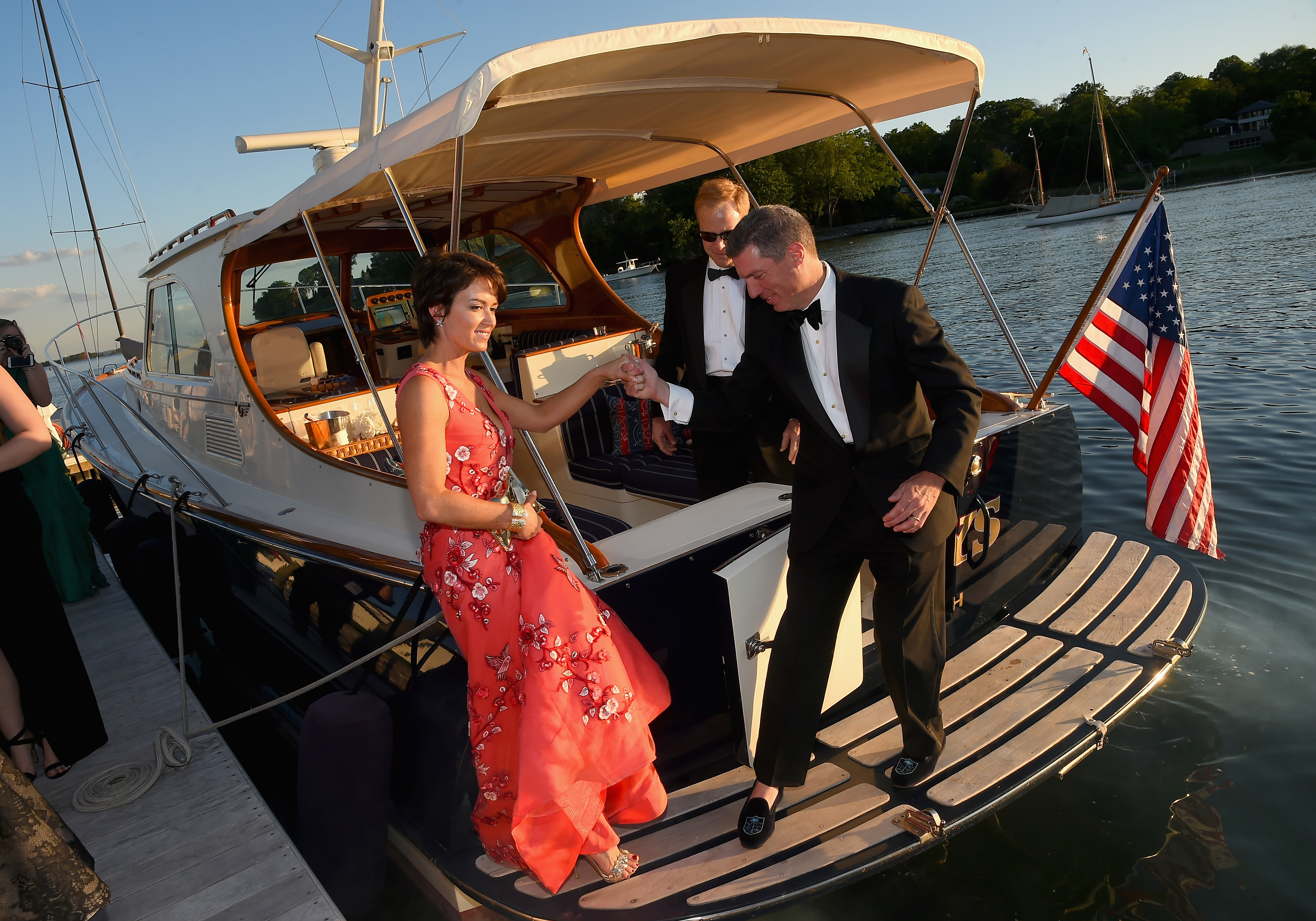 GREENWICH, CT - JUNE 01:  Greenwich International Film Festival Chairman of the Board, Founder, Wedny Reyes attends the Changemaker Boat Ride during the Greenwich International Film Festival, Day 1 on June 1, 2017 in Greenwich, Connecticut.  (Photo by Ben Gabbe/Getty Images for Greenwich International Film Festival)