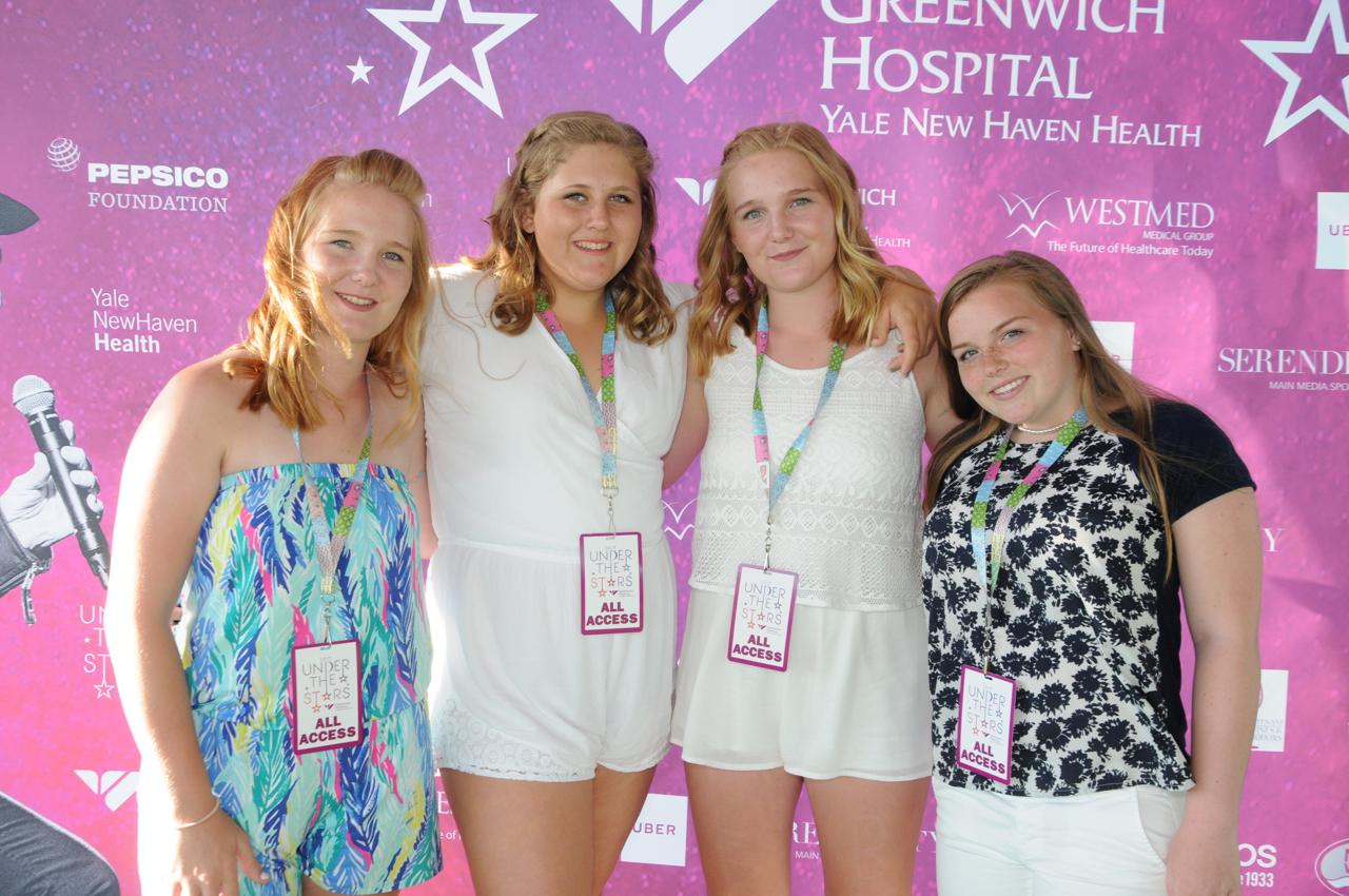 Charlotte Ashley, Jordan Rogers, Annalease Ashley, Emma Robertson