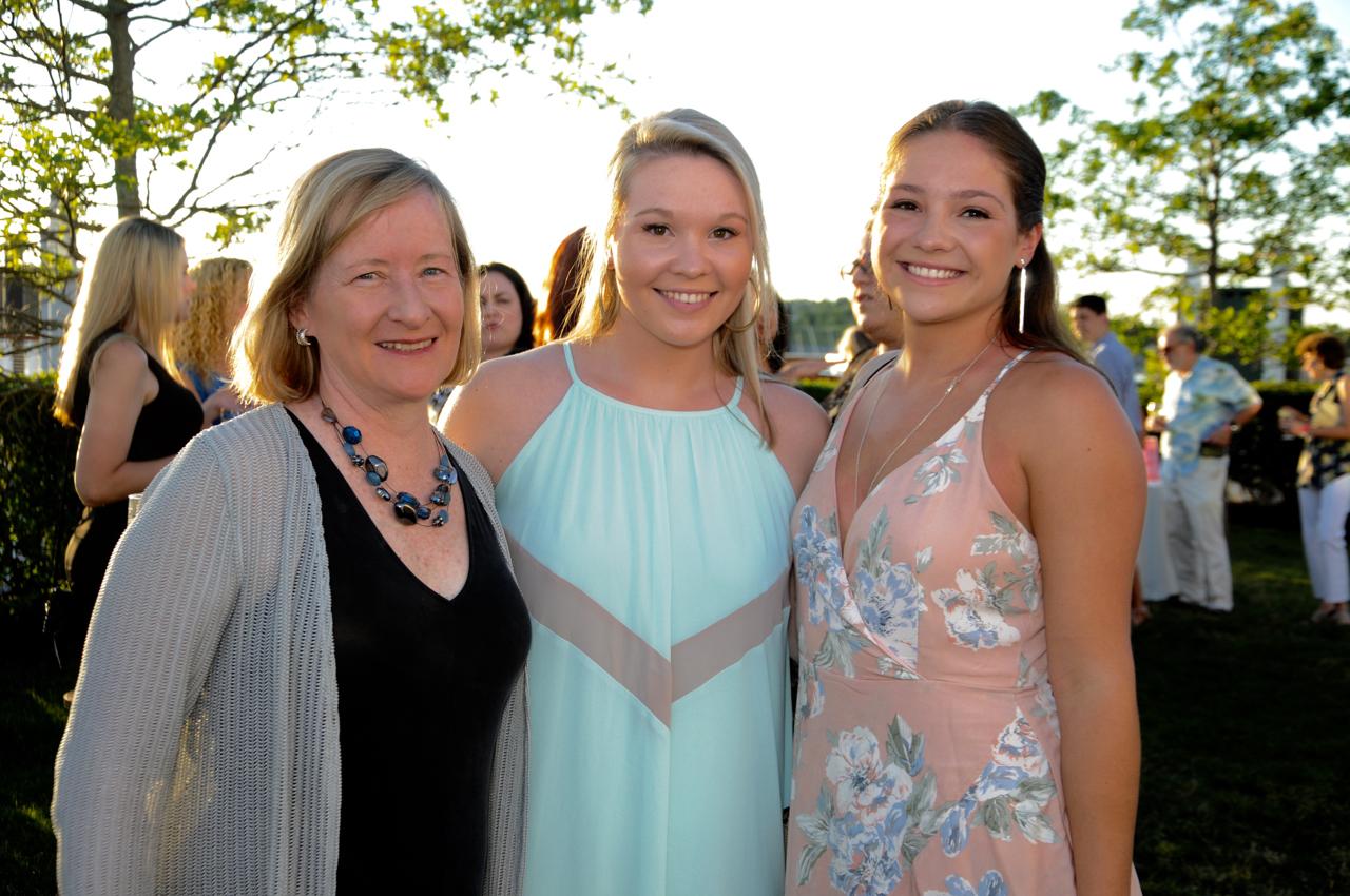 Dr. Barbara Ward, Erin Andrews, Mary Andrews