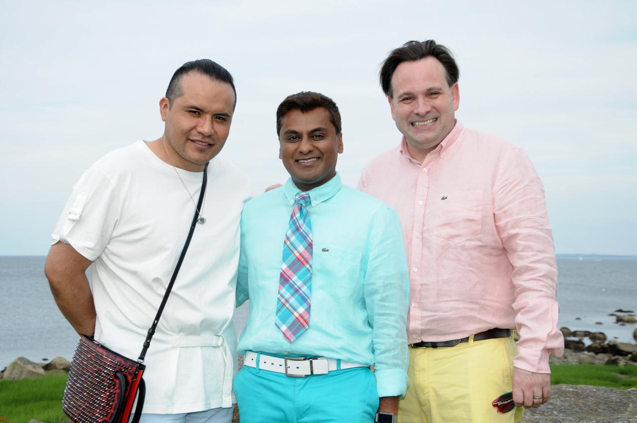 Becker Chicaiza, Reynold Jagial, Drew Marzullo
