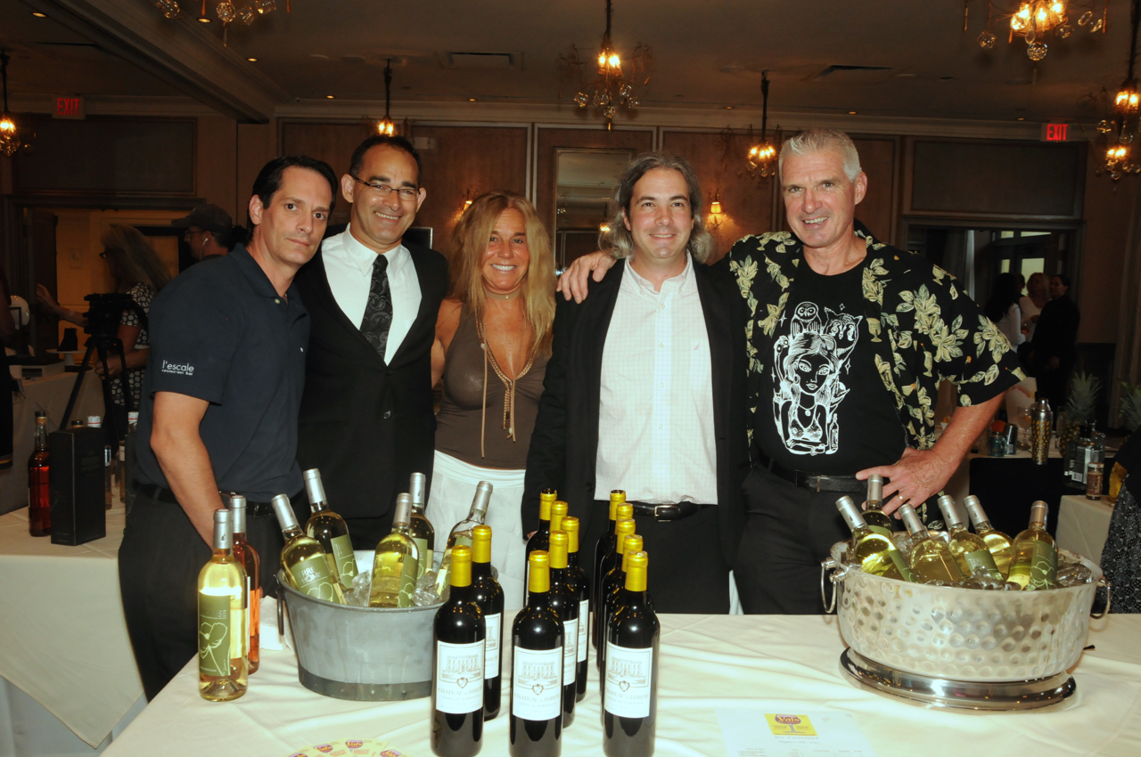Michael Kolesar, John Freitas, Gabiela Carbonetti, Jeb Fiorita, John Henry<br><em>Photograph: Bob Capazzo</em>