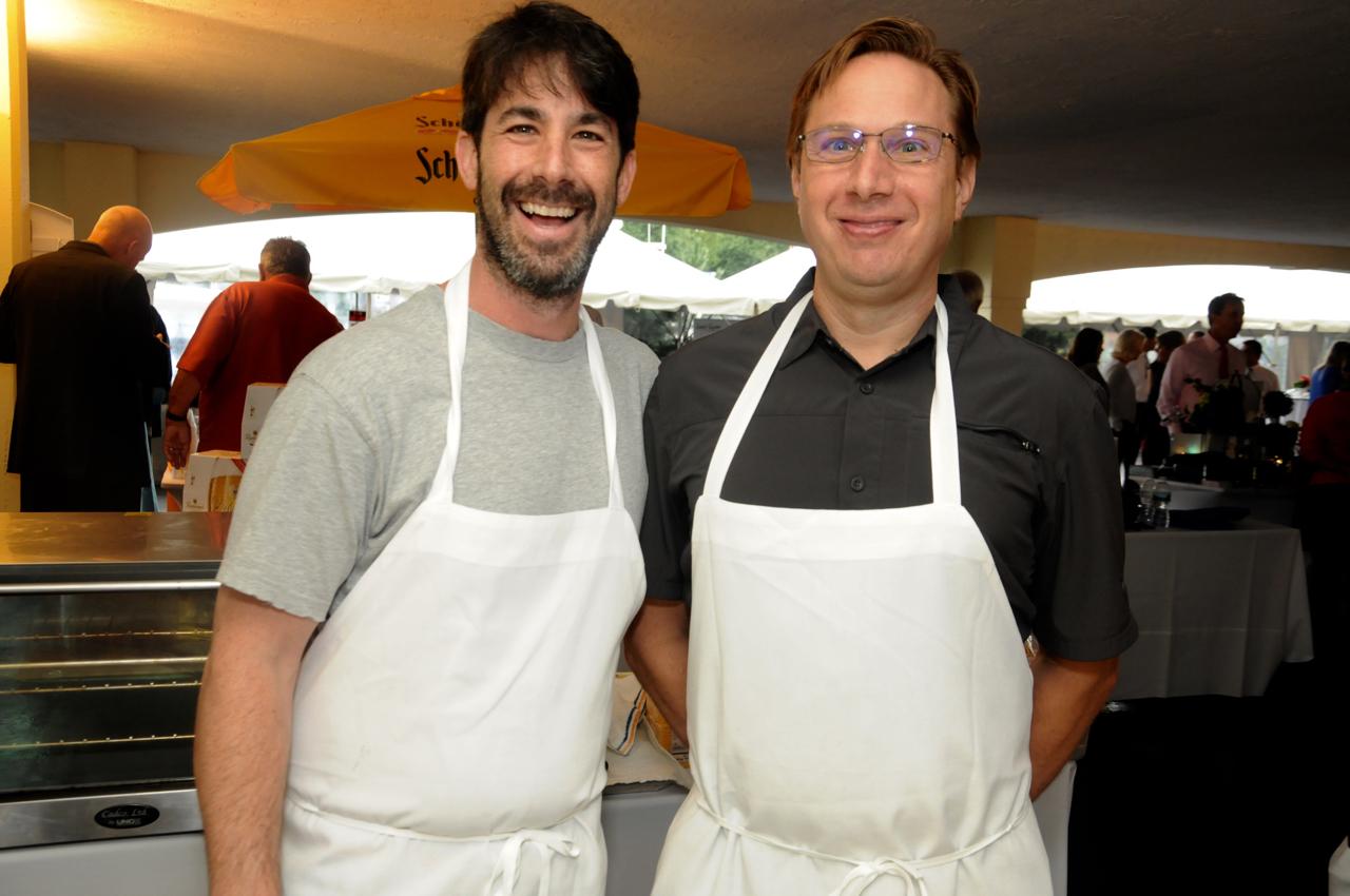 Cory Wollins, Lance Kasak<br><em>Photograph: Bob Capazzo</em>
