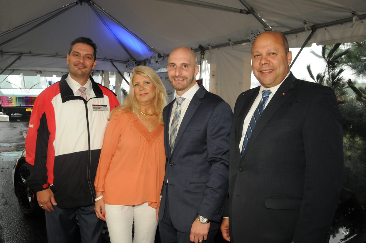 Matthew Gish, Sharon Grant, Richard Del Mazzio, Gilbert Castellon<br><em>Photograph: Bob Capazzo</em>