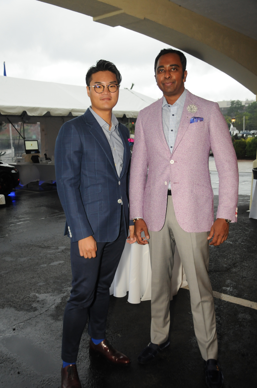 Alex Zxuang, Shermon Peters<br><em>Photograph: Bob Capazzo</em>