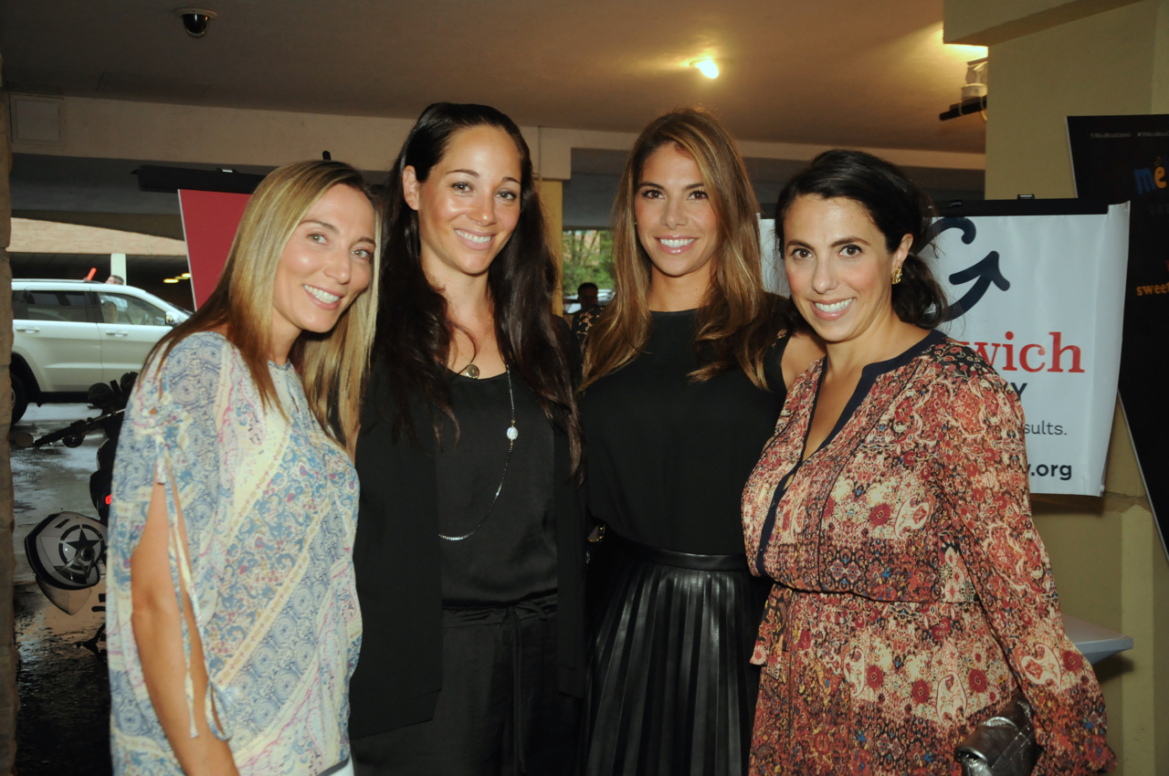 Carrie Wunsch, Kristin Forlini, Melanie Tsangaroulis, Gina Tyler<br><em>Photograph: Bob Capazzo</em>