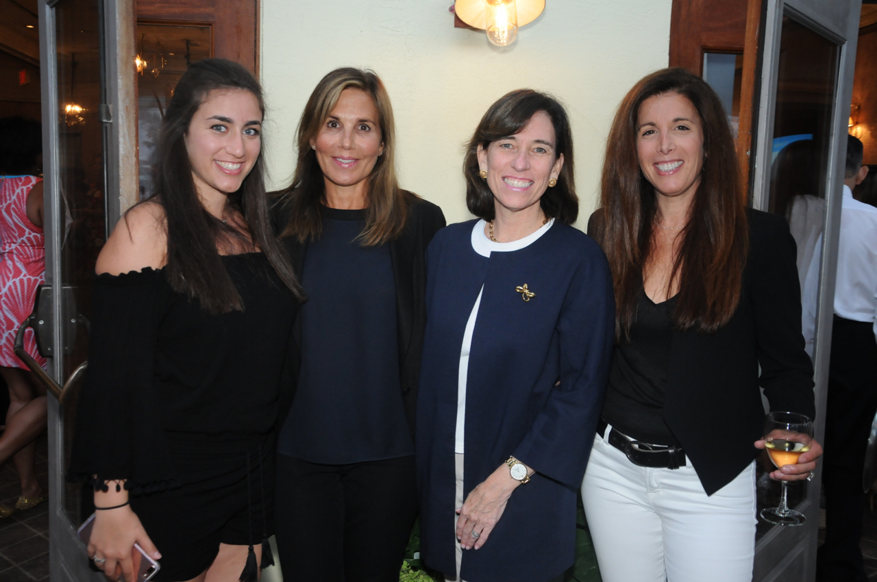 Jordan Young, Margriet McGowan, Vicky D'Agostino, Stacy Young<br><em>Photograph: Bob Capazzo</em>
