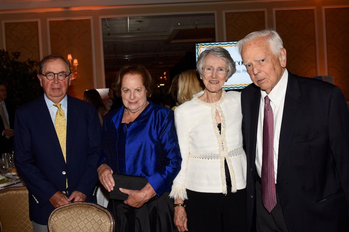 Ron Strackbein, Mary Hull, Alice Melly, Lloyd Hull