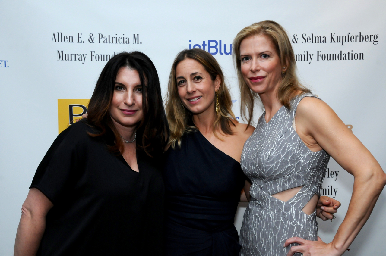 Maria Ward, Lisa Hellman, Lori Feldman