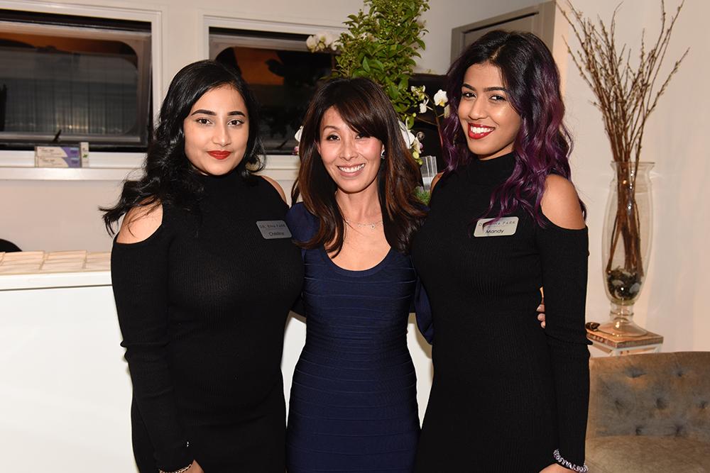 Christine Singh, Bina Park, Mandy Ussman