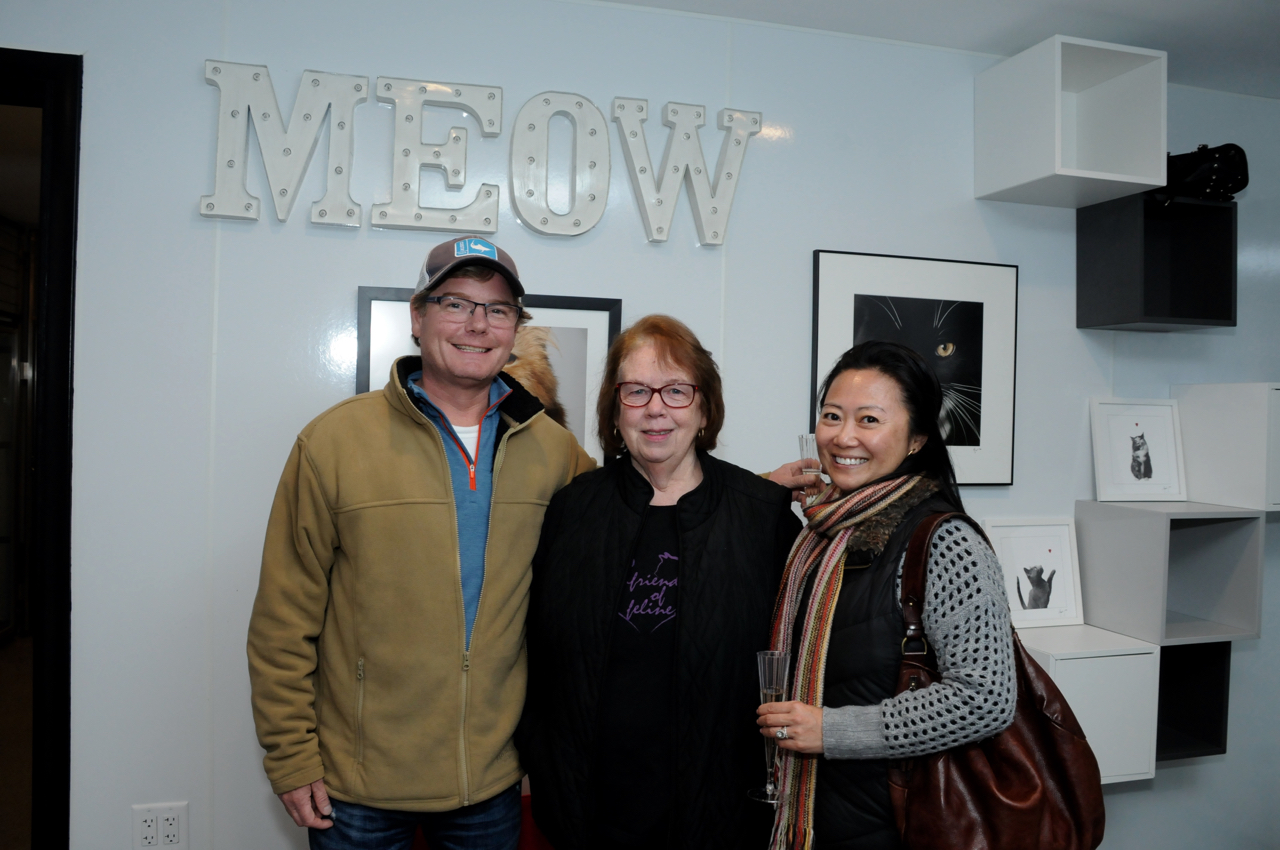 Steve Hutchins, Sally Wolk, Amy Hutchins