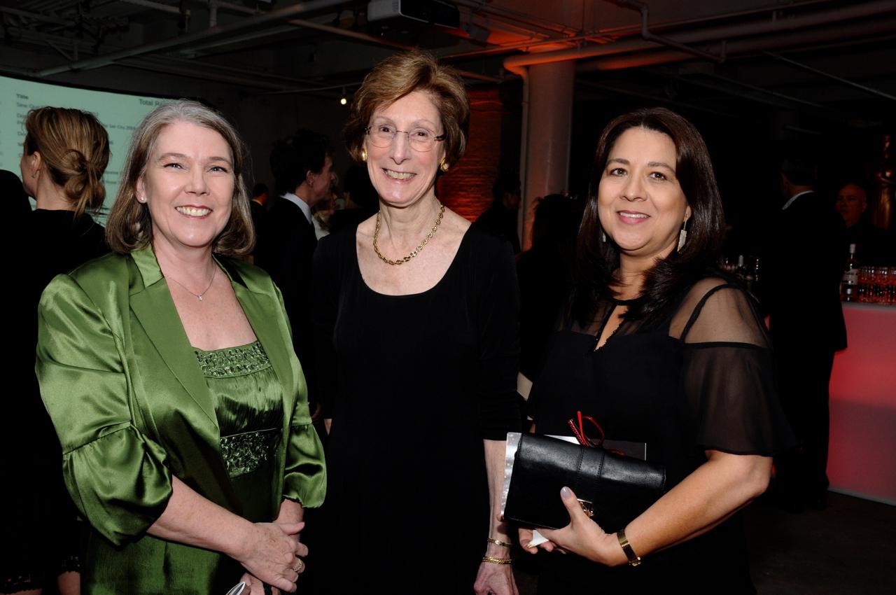 Lucy Langley, Virgina Cheney, Laura Delafor