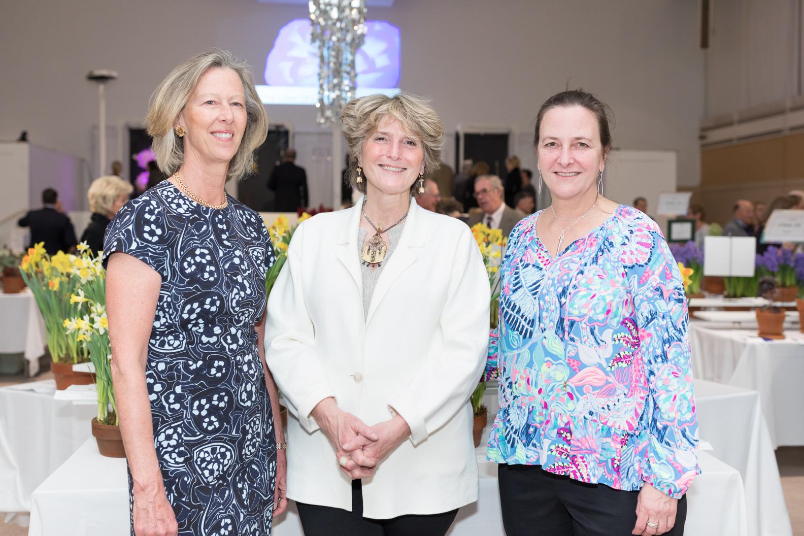 Karen DeWahl (President), Martha Robinson Heard (Co Chair), Sara Morena (Co Chair)