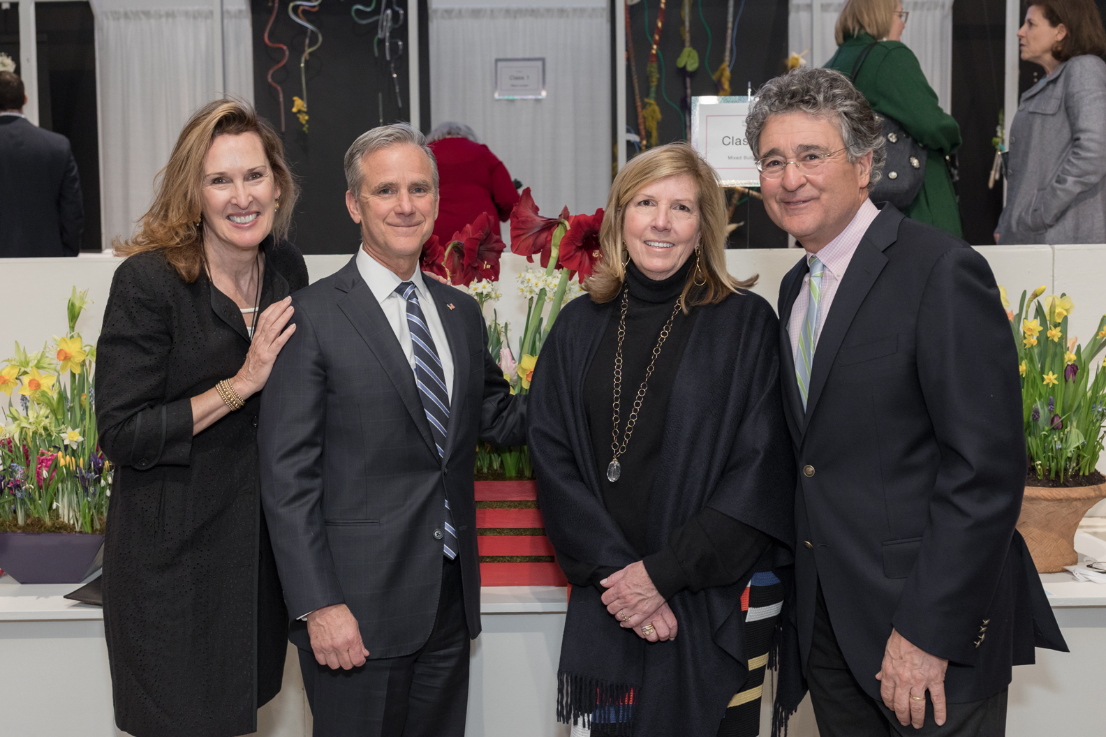 Eileen Grasso, Peter and Sheri Donovan, Patrick Grasso