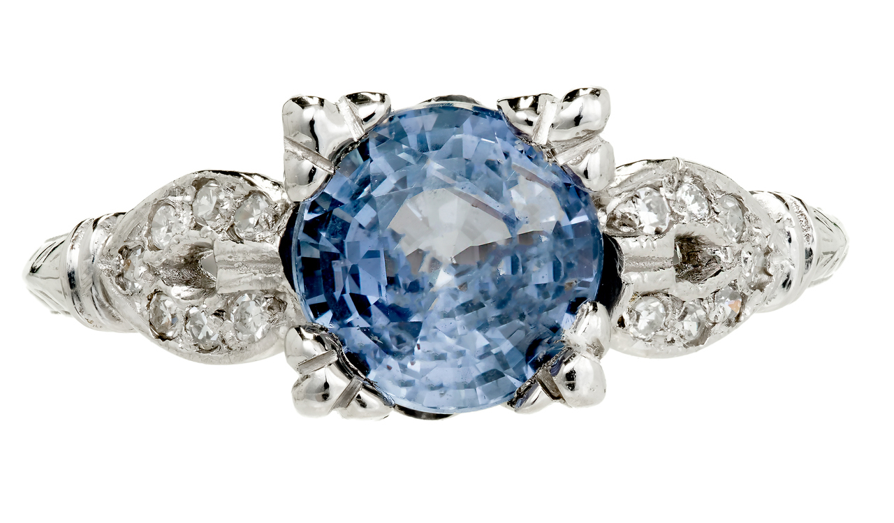 Peter Suchy Engagement Ring