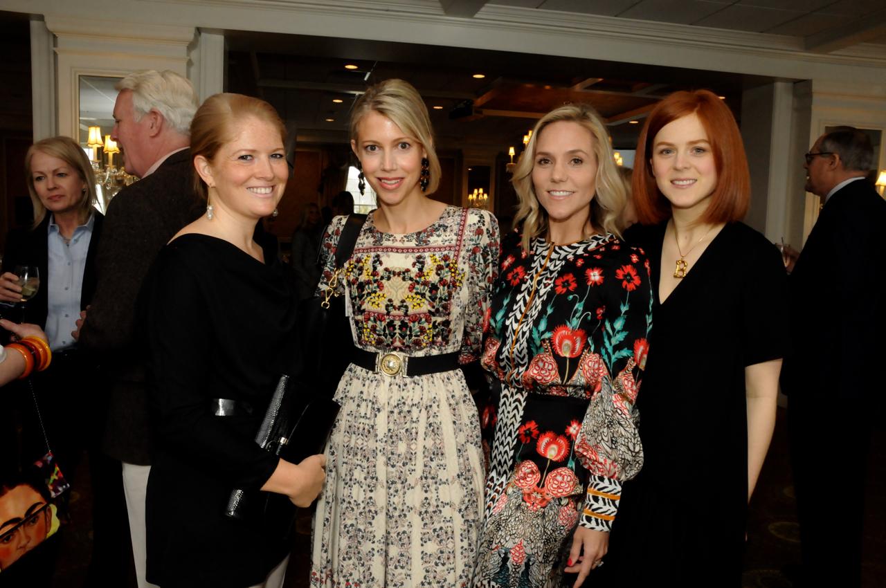 Jordan Rhodes, Virginia Tupker, Erin Glasebrook, Brooke Fagan