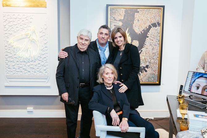 Serge Clement, Gilles Clement, Aida Clement, Marina Kamena