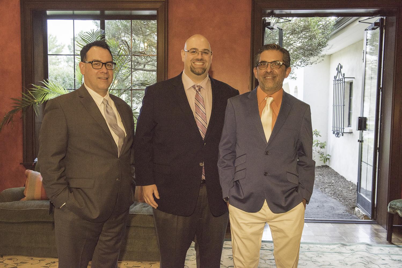 Luis Velazquez, Matt Miceli, John Kelly