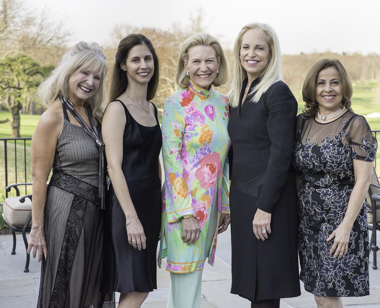 Donna Krausman, Daniella Mini, Martha Perry, Fran Cohen, Adriana Ospina