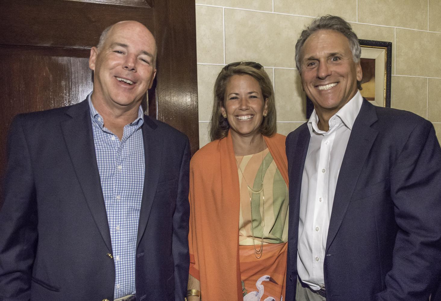 Peter and Lisa Lane, Rick Goldsmith