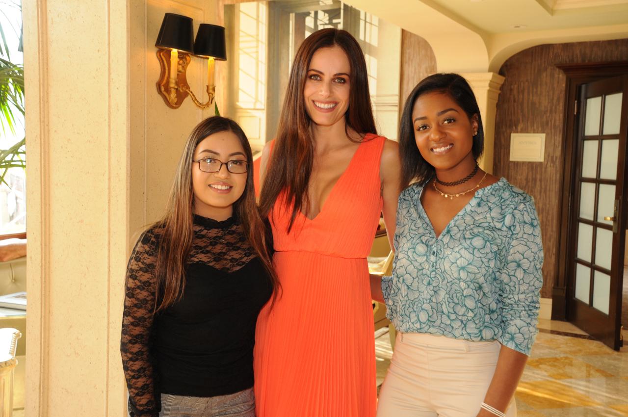 Guadalupe Lazcano, Gabriela Dias, Celeste Burnett