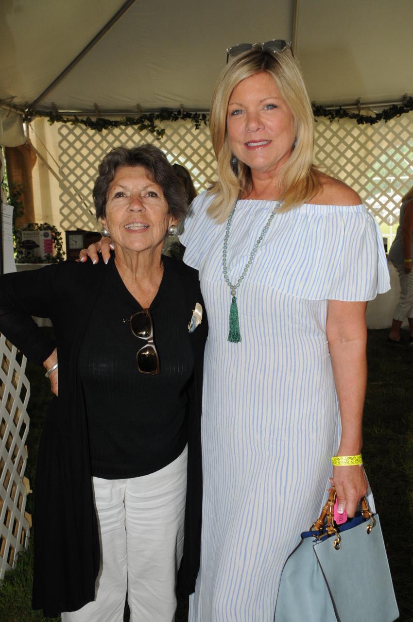 Sue Baker, Cindy Rinfret