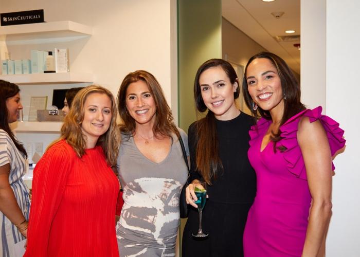 Debbie Spano, Stephanie Naccari, Inna Lazar, Kim Nichols MD