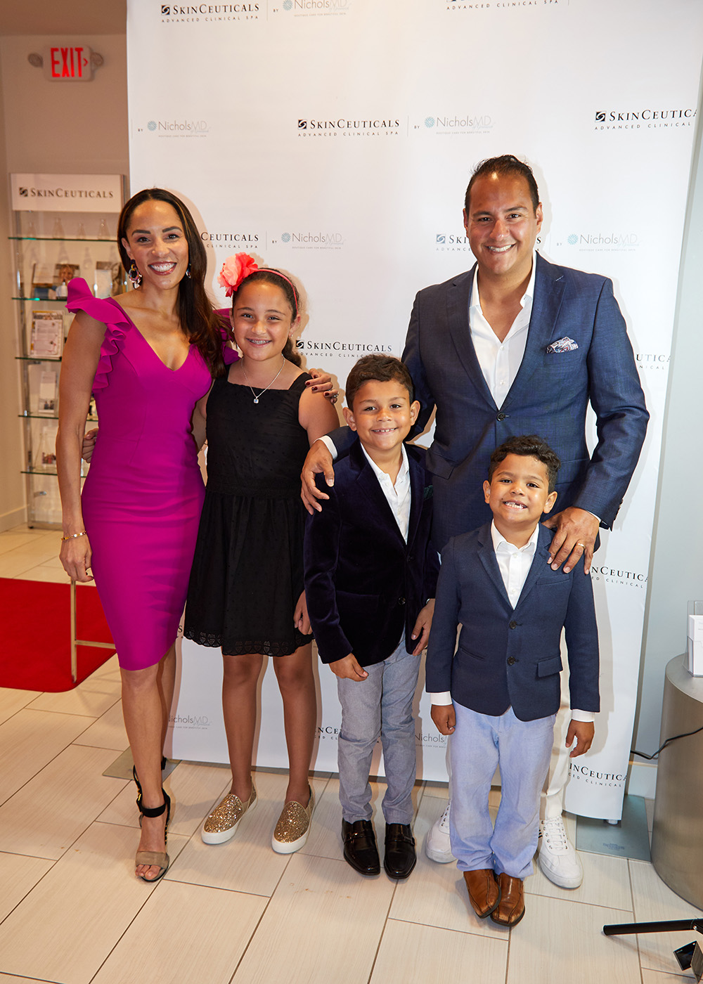 Kim Nichols MD and Chris Cananillas Family