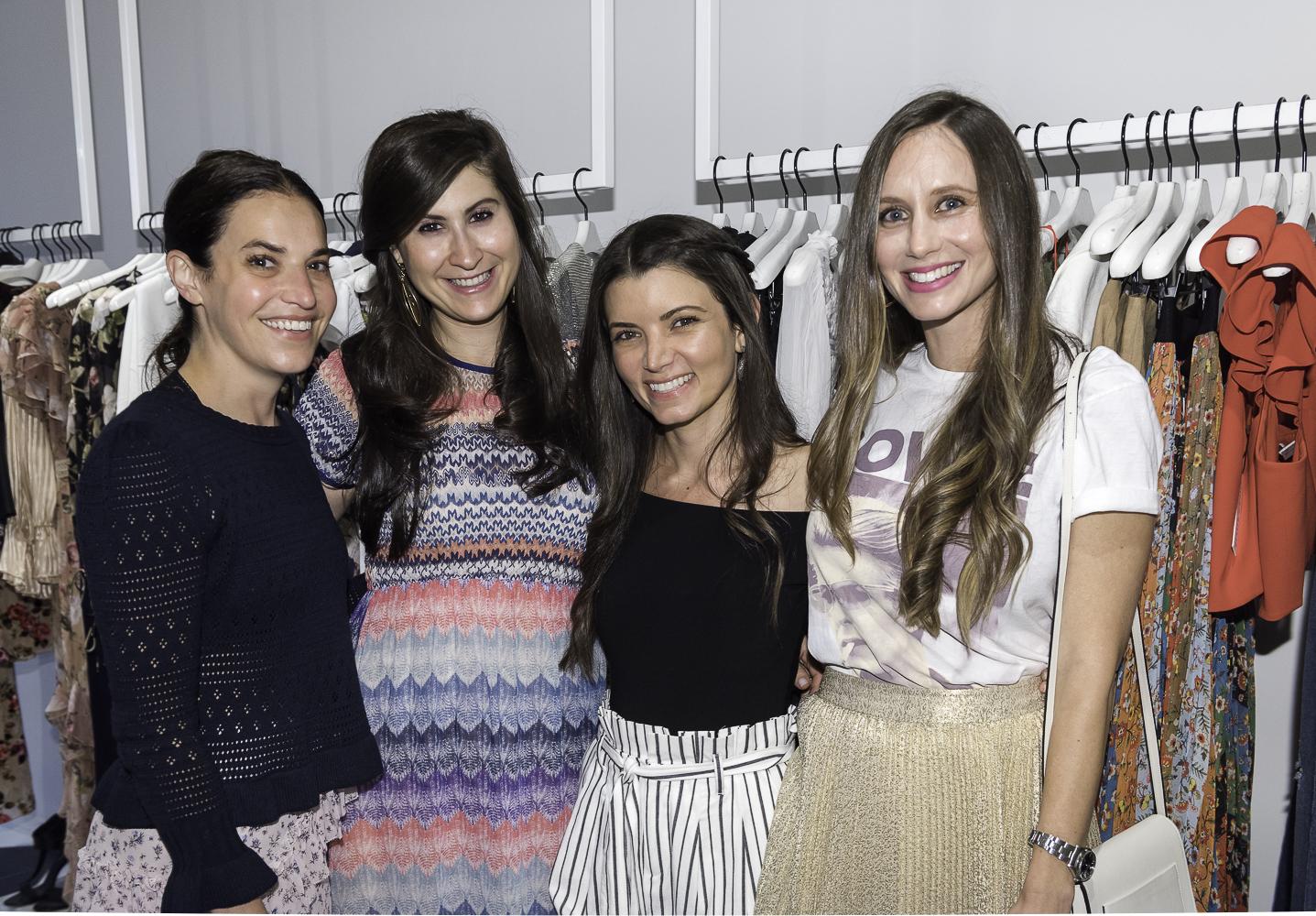 Jordan Sanders, Marissa Cohen, Sasha Friedman, Lauren Benenson