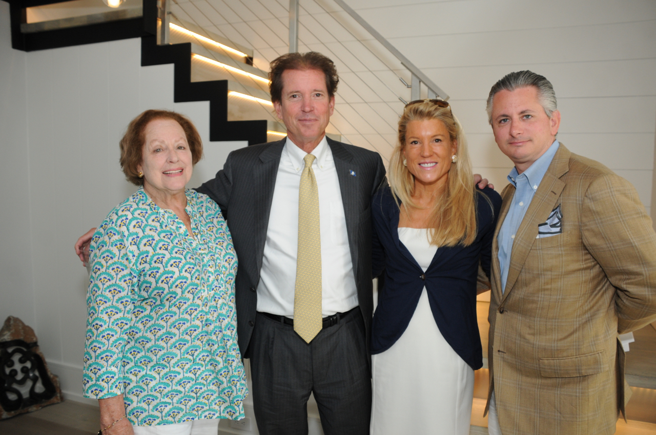 Mary Hull, Sen. L. Scott Ftantz, Tina Pray, Joe Lockridge
