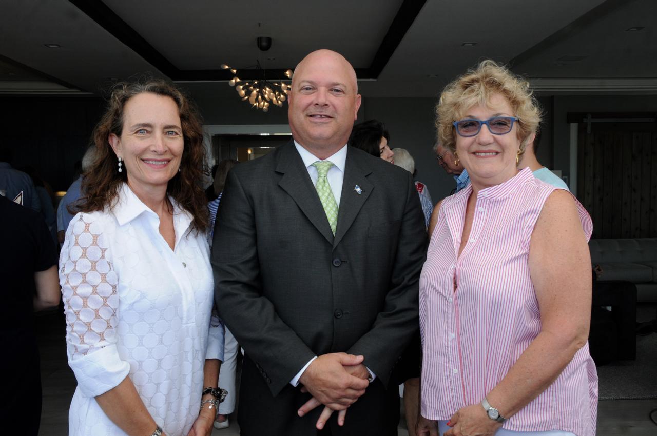 Cheryl Dunson, Rep. Mike Bocchino, JoAnn Messina