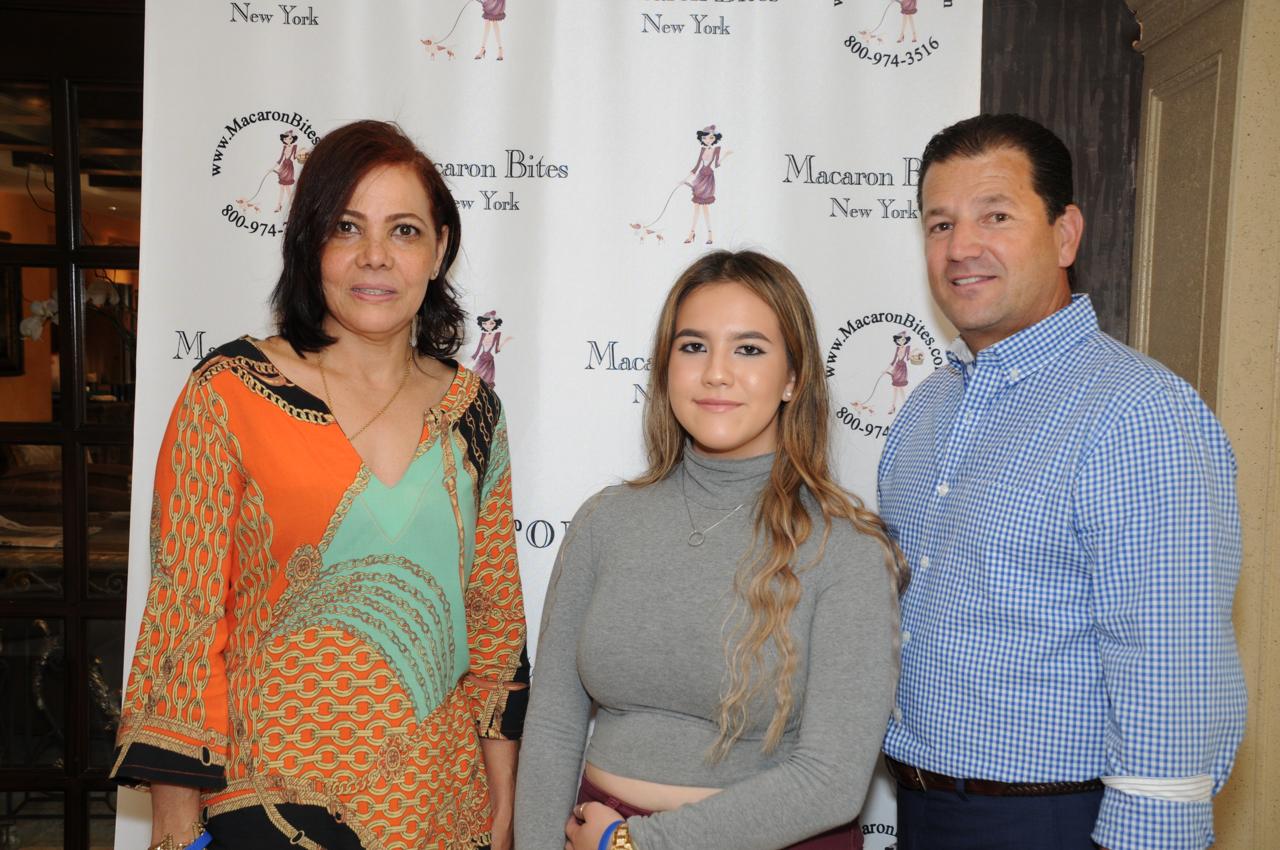 Maribel Mejia, Isabella Kam, Salomon Mejia
